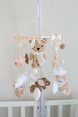 Mobile toys for baby crib