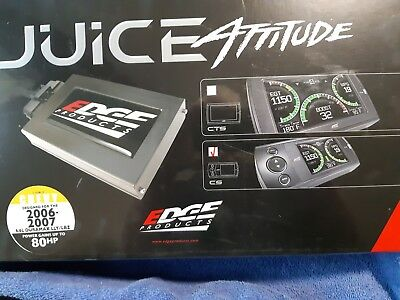 Edge juice with Attitude 21002  2006-2007 duramax