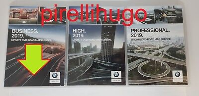 2019 BMW Business 2019 DVD Europe DVD-Navigation SA 606 (2xDVD) LAST NEW VERSION