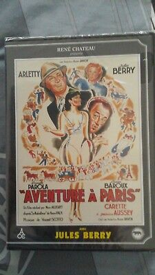 DVD AVENTURE A  PARIS de ALLEGRET / ARLETTY / JULES BERRY - NEUF