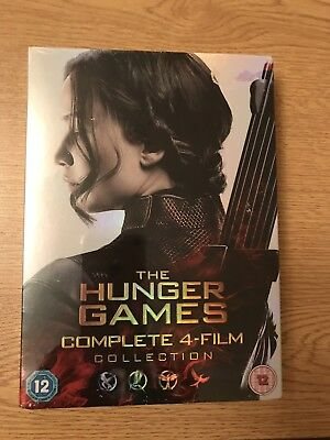 The Hunger Games Complete 4 Film Box Set New And Sealed