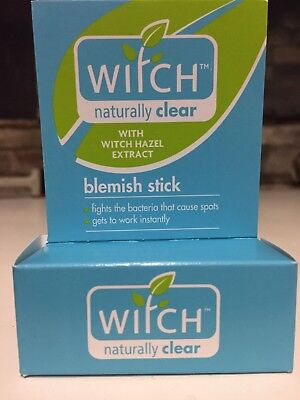 Witch Naturally Clear Blemish Stick X 6