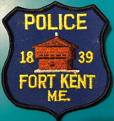 Fort Kent Maine Police Patch