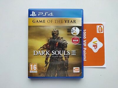 Dark Souls 3 The Fire Fades Edition GOTY Game of the Year Edition PS4 FR
