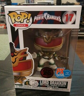 Funko Pop! Lord Drakkon Power Rangers MMPR PX Previews Exclusive IN STOCK Pop 17