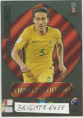 Panini Adrenalyn XL World Cup Russia 2018 Limited  Edition Mark Milligan