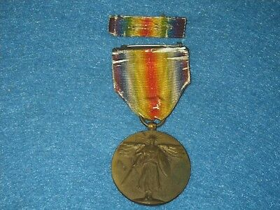 Original WWI US WWI Victory Medal with Ribbon