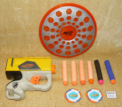 Nerf Accessory Joblot N-Strike Gun Frisbee Assorted Bullets Nurf Lots Of Fun