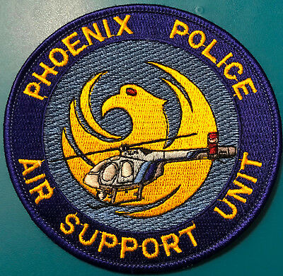Phoenix Air Support Unit Arizona Police Patch