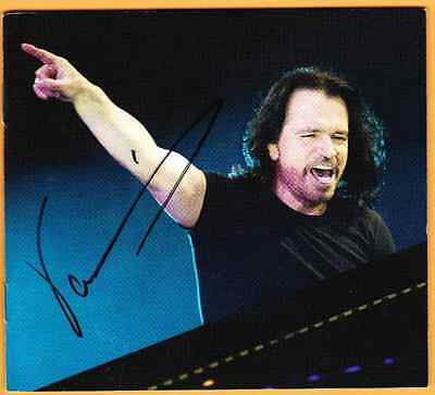 NEW Yanni Signed Autographed INSPIRATO CD Deluxe Edition