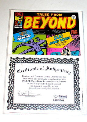1963 Tales From Beyond - Alan Moore  Signed W/coa