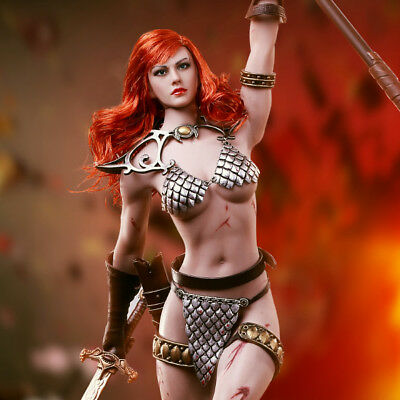Phicen Red Sonja: Scars of the She-Devil Sixth Scale 1:6 Figure NEW DOUBLEBOX