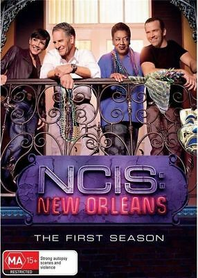 NCIS - New Orleans : Season 1 (DVD, 6-Disc Set) NEW