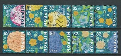 Japan - Daily Flower Living 2018 - y82 - Complete Used