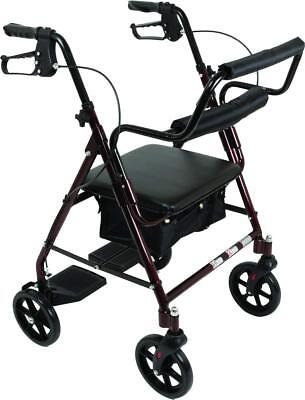 ProBasics Transport Rollator Walker With Seat and Wheels NEW IN BOX