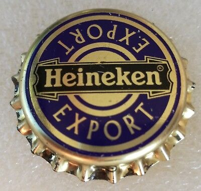 Netherlands Old Rare Unused Bottle Cap Heineken Nederland Heineken Export Beer