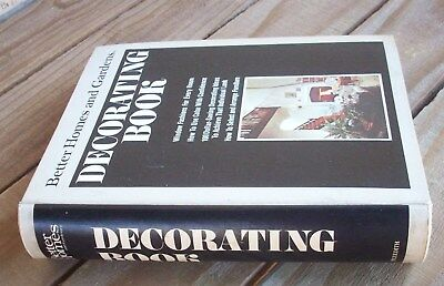 Vintage Better Homes and Gardens Decorating Book Third Edition Fourth Printing,