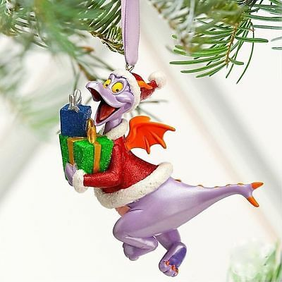 Disney Parks Figment Figurine Holiday Christmas Ornament New with Tags