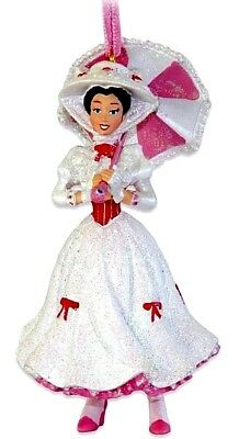 """Disney MARY POPPINS """" Practically perfect says Mary """" Christmas Ornament New"""