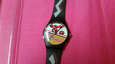Rare, unique collectible Twix candy bar watch,very light wear,collectible C731