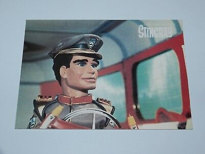 Gerry Anderson Stingray Captain Troy Tempest Post Card 1987 Itc Entertainment