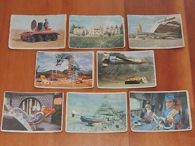 Gerry Anderson Thunderbirds Picture Album Collector Cards 1966 P. Films Ltd Uk