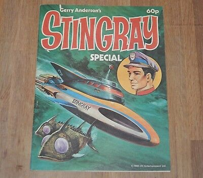 Gerry Anderson Stingray Special 1983 Comic