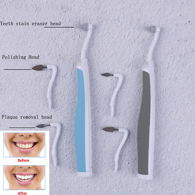 SonicLED dental tooth stain eraser teethpolisher whitenerstainplaque remover#E