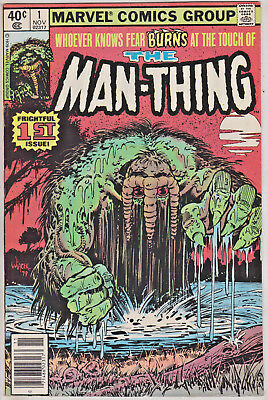 Man-Thing#1 Vf/nm 1979 Marvel Bronze Age Comics