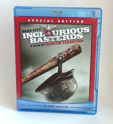 Inglourious Basterds Blu-ray Special Edition (2-Disc Set, 2009)