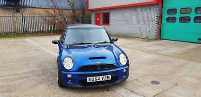 Mini cooper s  supercharged 2004 (54) MOT 210bhp lots of mods blue
