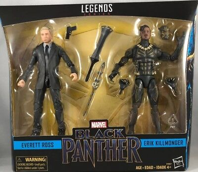 Marvel Legends Black Panther Everett Ross /& Erik Killmonger 2 Pack Hasbro MIB