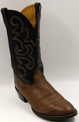 02b69e5f267 NOCONA VINTAGE COWBOY Western Brown Leather Men's Boots 12 EE Made In USA