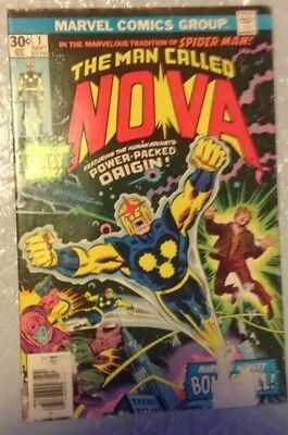 NOVA #1   - 1st APPEARANCE OF RICHARD RYDER as NOVA ORIGIN!