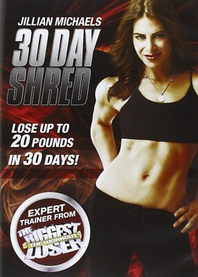 Jillian Michaels 30 Day Shred Exercise & Fitness New & Sealed DVD