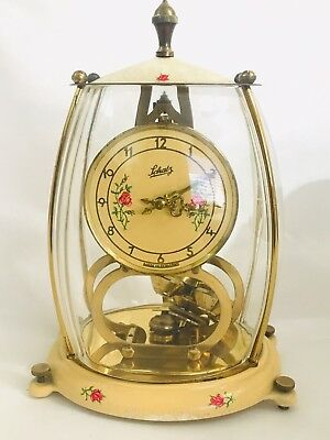 Vintage Schatz  & Sohne Torion Pendlum Clock 2-Jewels Germany For Projects
