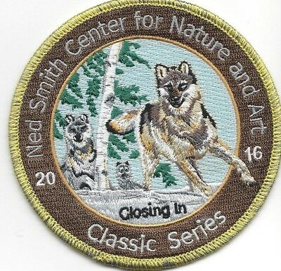 "Pa  Pennsylvania Game Related  Ned Smith  Patch  2016 Coyote  "" Closing In """