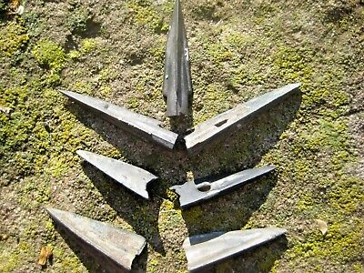 Lot 7 pcs. ANCIENT Greek Scythian Bronze ARROWHEADS 4 - 5 century BC