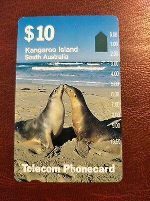 Mint $10 Kangaroo Island South Australia Phonecard Prefix 23