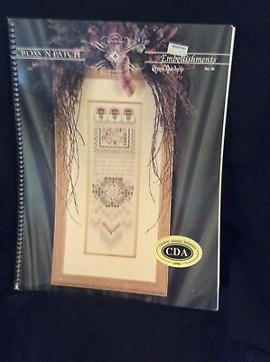 1994 Cross 'N Patch Embellishments Book #996