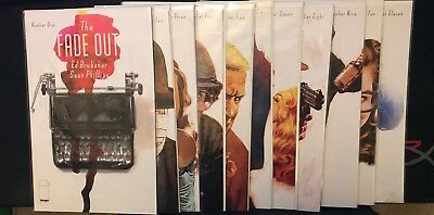 Image Comics THE FADE OUT comic Lot by Ed Brubaker  #1 - 11 Sale!