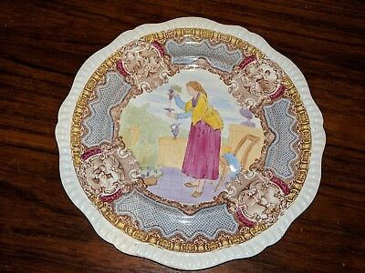W t copeland sons Plate 1800's sold by a.t Wiley in Montreal