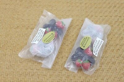 American Girl 4pcs Strawberry & Mulberry cluster fruit 18'' doll accessories