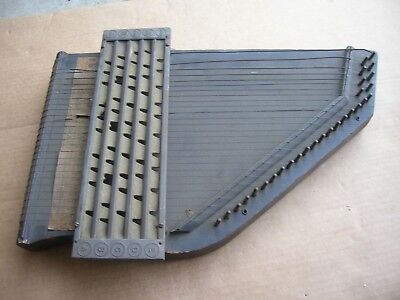 Antiques 27 String Gizmo Apollo Harp No 5 Musical Instrument/zither Harp Musical