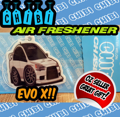 mitsubishi lancer evo x evolution x Car air freshener hanger chibi