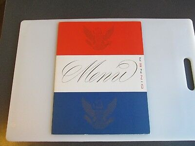 United States Lines S.S. America Cruise Ship Menu 1956 Good Condition