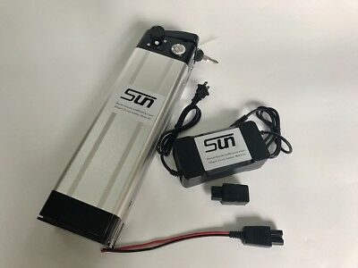 Li-ion 36V 12AH Battery Pack 3A Charger BMS Rechargeable Electric Scooters 500W