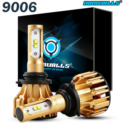 9006 HB4 LED Headlight Bulbs Conversion Lamp 6000K 1500W 225000LM White Light