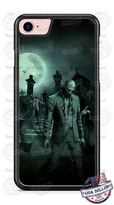 Walking Dead Zombie Scary Cemetery Phone Case Cover for iPhone Xs Max LG etc