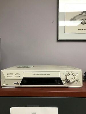 Exxis 128 Hour Time Lapse Security Recorder VCR Model ER128TCN No Remote
